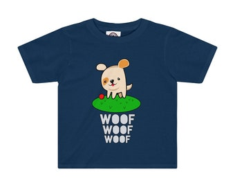Toddler 2T 4T Cute Puppy Dog Woof Woof Woof TShirt