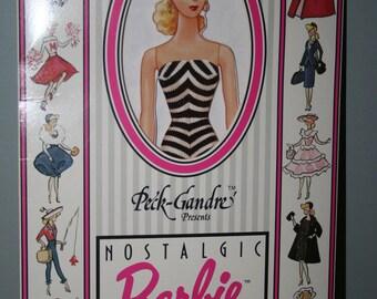 Nostalgic Barbie Paper Doll