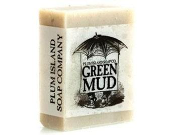 All Natural Soap: Green Mud