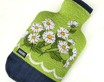 Upcycling - Hot water bottle cover