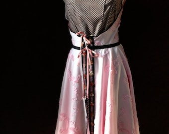 Apron Miss Diors Housedress  by Trish Vernazza Featured in  Apronology Magazine 2014