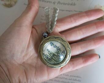 Botanical Perfume from Lavender handbag