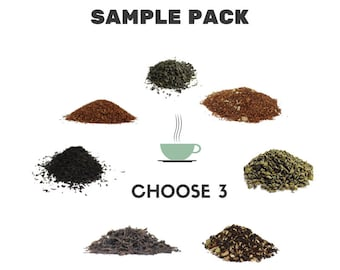 Tea Sampler Pack of 3 - Perfect Holiday Gift