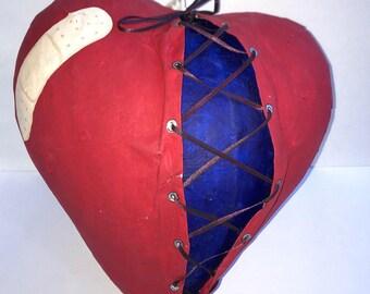 CHD Awareness Pinata Heartiversary Party Idea Valentine's Day Pinata Broken Heart Pinata Custom Pinata Congenital Heart Defect Awareness