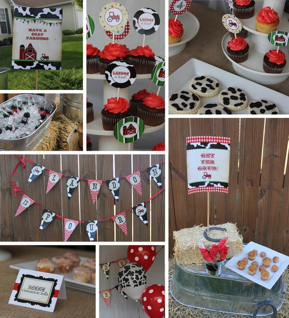 Items Similar To Farm Birthday Invitation And Party