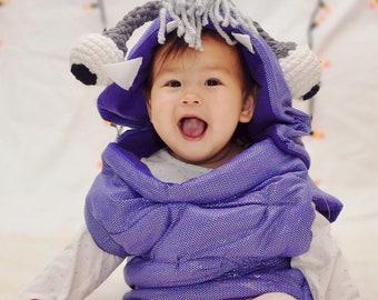 Boo Monster's Inc Costume   Little Kid's Halloween Costume Handmade