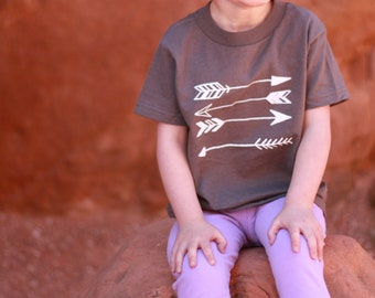 Stacked Arrows Toddler T-shirt or Baby Bodysuit