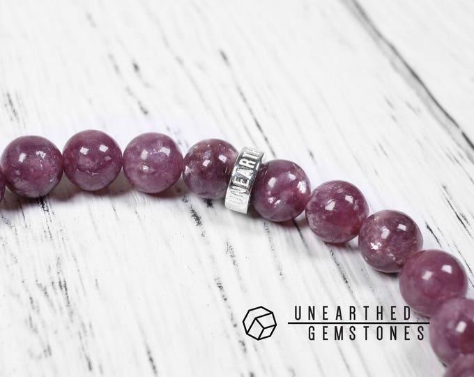 AAA Lepidolite Bracelet