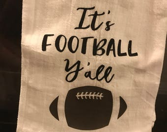 It's Football Y'all Dish Towel