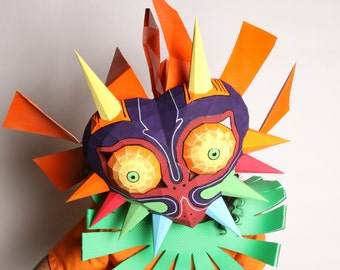 Paper Majora's Mask/ Skull Kid of Zelda