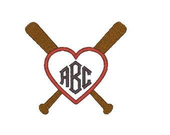 Baseball Monogram Frame Machine Embroidery Design, baseball border embroidery design, baseball frame embroidery design, monogram border