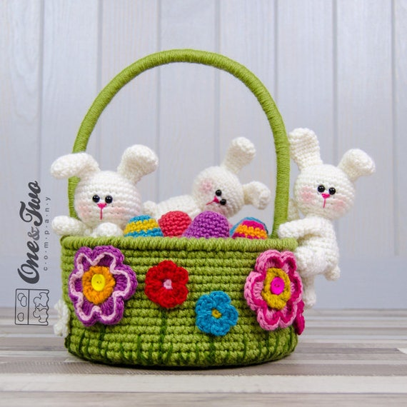 Little Bunnies Easter Basket
