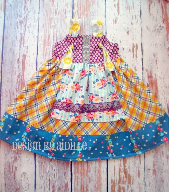 Girls Dress Pattern, PDF Sewing Patterns for Girls, Easy Sewing ...