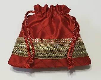 Potli Bags Shagan bags Jewelry Bags Engagement