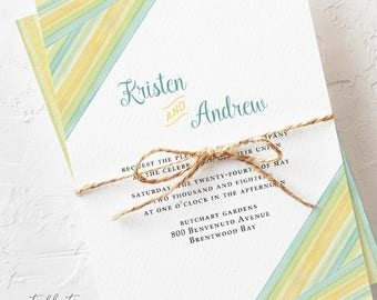 Driven by Love - Wedding Invitations (Style 13633)