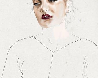 CUSTOM PORTRAIT | Color