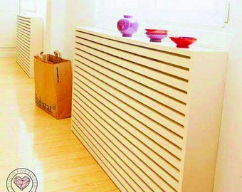 Radiator Covers Modern Design Solid Wood