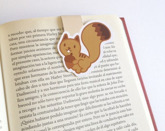 Little Squirrel with Acorn Magnetic Bookmark  - Double Sided