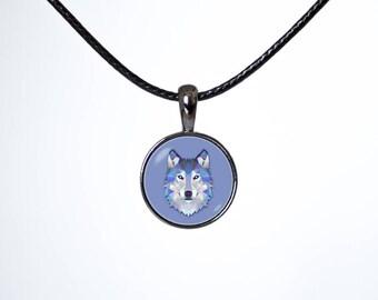Art choker Teen choker Wolf choker Choker necklace Wolf jewellery Animal pendant Black choker Chokers Leather cord Pendant choker Wildlife