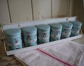 Vintage Spice Jars - Vint...