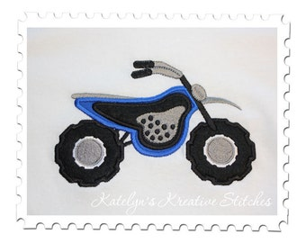 Dirt Bike Applique
