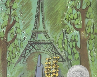 MADELINE, Ludwig Bemelmans, Caldecott Honor, hardcover in dust jacket, juvenile classic, later printing