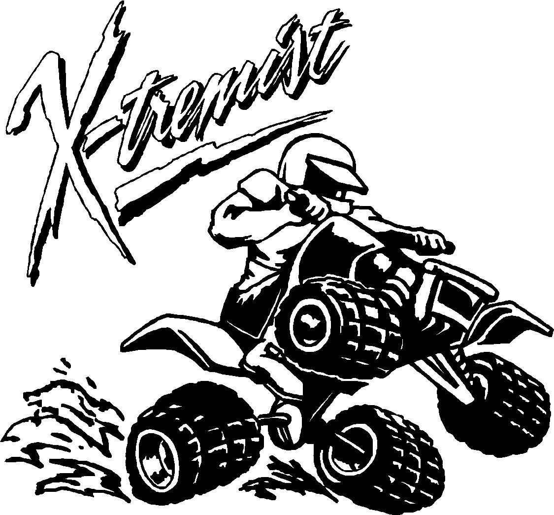 Dibujos Para Colorear Motocross A Of Cuatrimoto Para Colorear ...