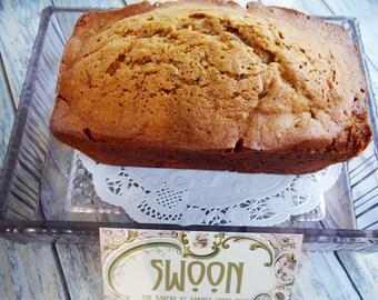Pumpkin Walnut Date Bread  ~ 2 Mini Loaves ~ Pumpkin Cake ~ Homemade Bread ~ Sweet Bread