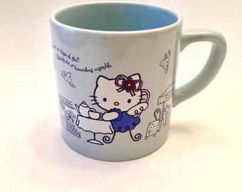 1976-2002 Hello Kitty Angel Mug-French-Hello Kitty-Collector