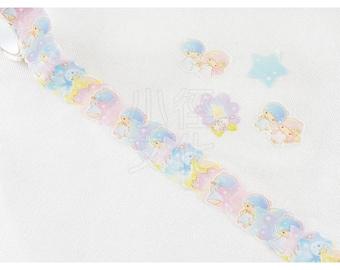 BANDE Sanrio Paper Sticker Series  N-1801-483966- Little Twin Stars