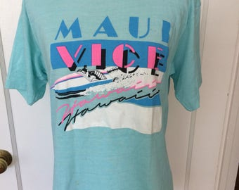 Vintage 1980's mens/womens hawaii tshirt. Size M
