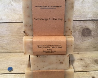 Sweet Orange & Clove Soap