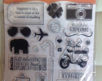 Acrylic Stamp Set-Life's an Adventure