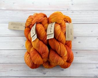 "Hand dyed sock yarn // ""Shepherd""s Delight"" // Australian merino wool // nylon // 4-ply // knitting // crochet"