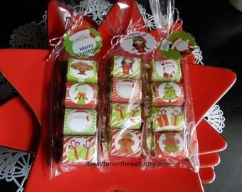 Christmas  Nugget Wraps, SantaTags, Teacher Appreciation Gifts, Neighbor Gifts, Party Favors, You've Been Jingled, Stocking Stuffers