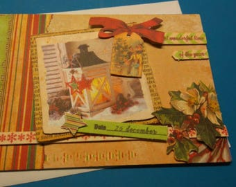 3D 934 hand made greeting card