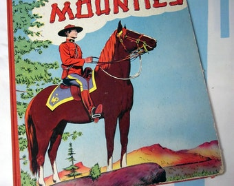 West With The Mounties 1951 - By Genevieve Cross
