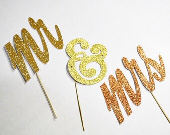 Mr & mrs photobooth props , glitter props, wedding photobooth