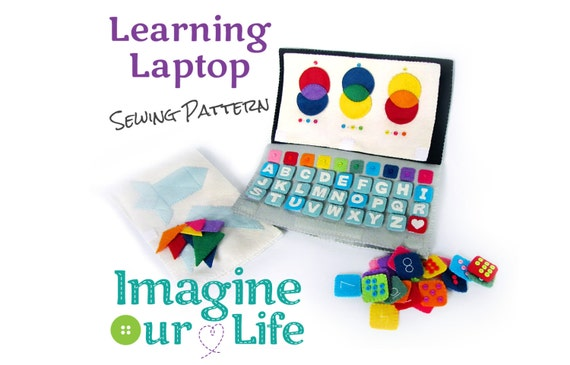 Lernen Laptop ruhig Buch digitale Schnittmuster