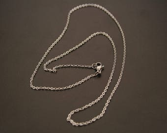 stainless steel 2 necklaces. (ref:3579).