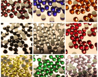 10 Gross(1440pcs) SS10 AAA+ Quality 3mm Low-Lead Hotfix Rhinestones 1440-14400pcs (10-1000 Gross)