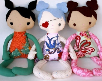 SALE Jo PDF Doll Pattern