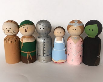 Wizard Of Oz Inspired Peg Dolls