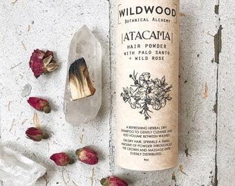 Wildwood ATACAMA Dry Shampoo, Hair Powder, Shampoo, Hair Deodorizer, Natural Hair Care