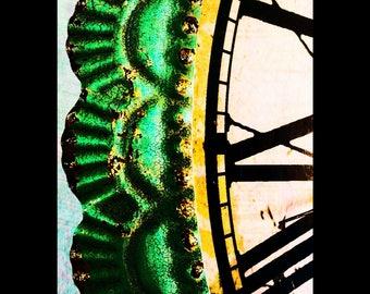 Clock Edge Print