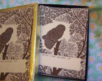 antioch owl bookplates