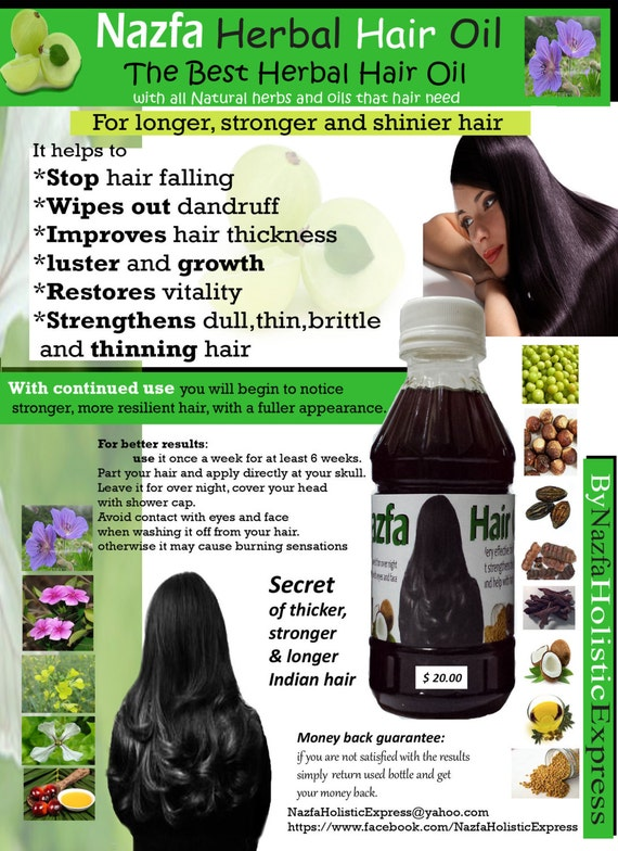 nazfa herbal hair oil