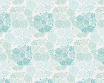 Geo Mist Frost fabric (sold in 1/2 yard increments) from Anna Elise by Bari J. (Art Gallery Fabrics)