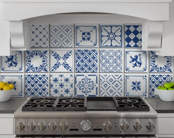 Ceramiche vietri etsy for Composizione piastrelle bagno