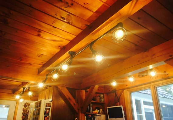 Rustic industrial track lighting ul listed commercial track aloadofball Choice Image